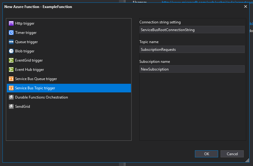 Azure Functions And Service Bus